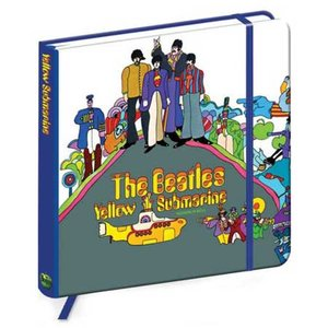The Beatles notitieboek 'Yellow Submarine'