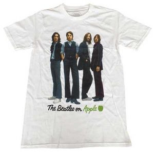 The Beatles T-Shirt 'Iconic Image (wit)'