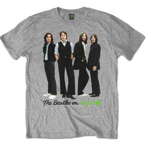 The Beatles T-Shirt 'Iconic Image (grijs)'