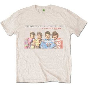 The Beatles T-Shirt 'Sgt Pepper LP Here Now'