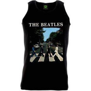 The Beatles T-Shirt - Abbey Road (mouwloos)