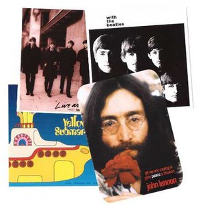 The Beatles Sticker Pakket 1 (4 stuks)
