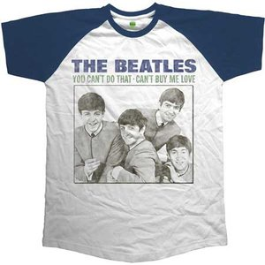 The Beatles Raglan T-Shirt 'You can't do that - can't buy me love'